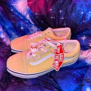 Yellow old school vans